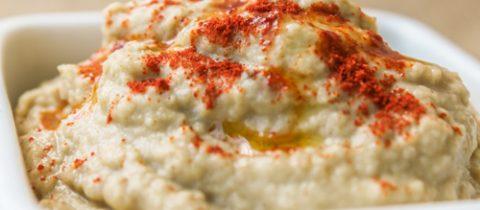 Baba ganoush (or aubergine pâté)
